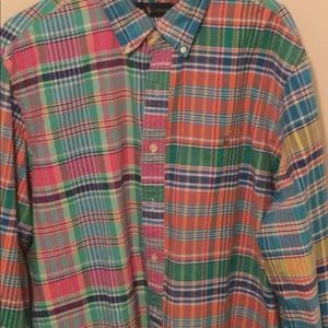 Polo Ralph Lauren Plaid Fun Shirt